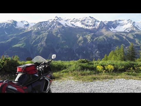 Alps - Col de Turini, Col de la Bonette, Col du Mont-Cenis / Europe motorcycle trip part 8