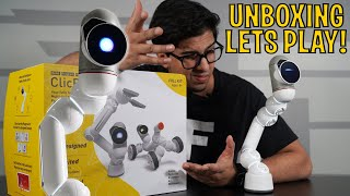 Unboxing ClicBot - The First Living Dancing Robot Modular STEM Kit!