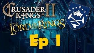 Crusader Kings II Middle Earth Dwarves Of Erebor Ep 1