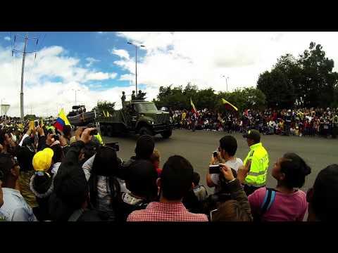 Desfile Militar 20 de Julio Bogota 2014