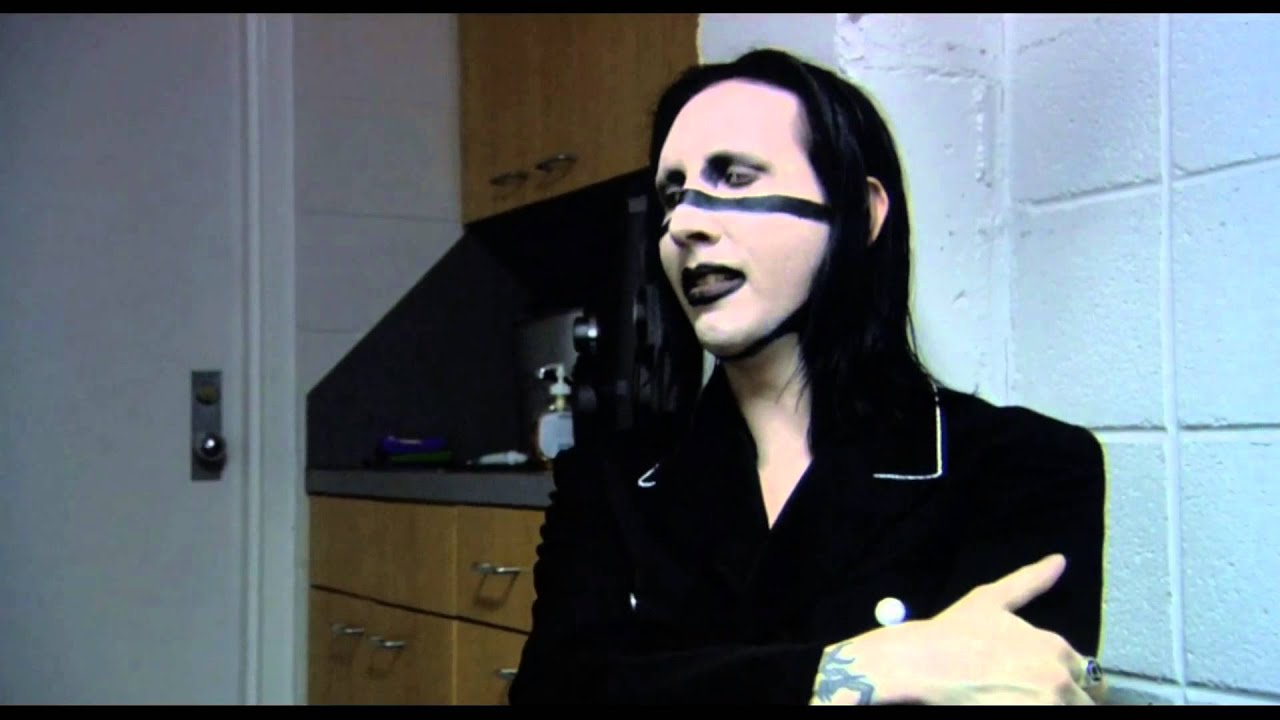 Marilyn Manson Wallpaper Quotes Bowling For Columbine Marilyn Manson Fear And