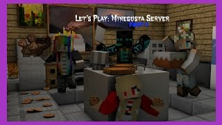 Let's Play: Minecraft Minegusta Server - (Part 4) - Renovations Take Forever