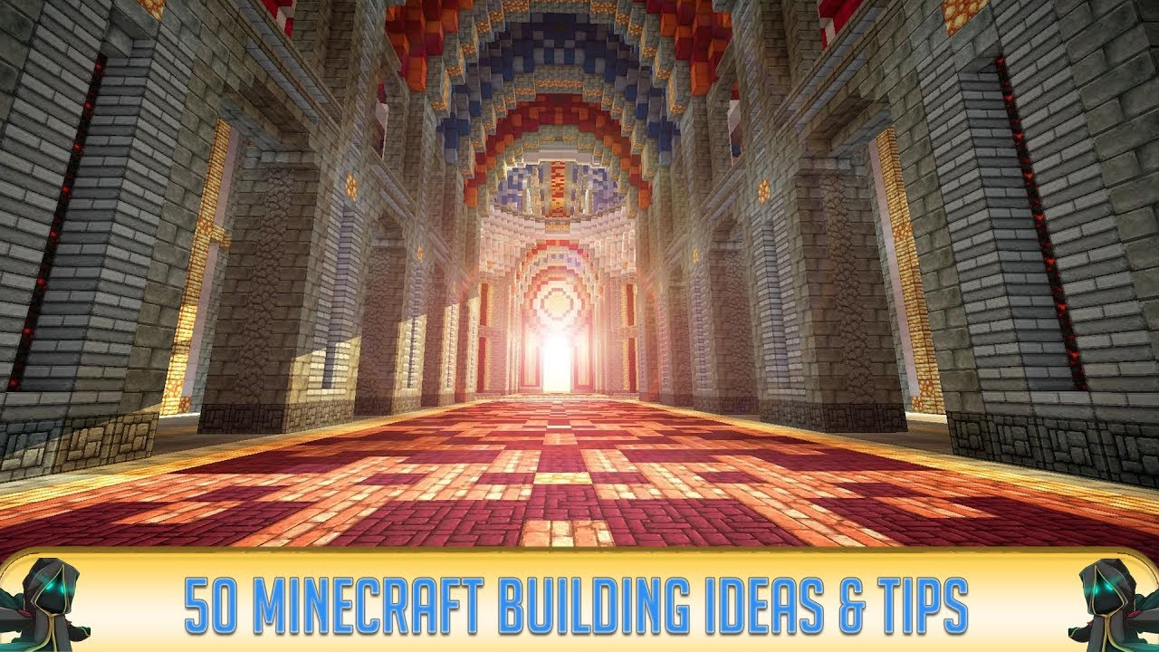 Minecraft: 50 Minecraft Building Ideas & Tips to Try - YouTube