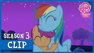 "MLP: FiM - Rainbow Dash Takes Scootaloo Under Her Wing ""Sleepless in Ponyville"" [HD]"