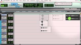 Elastic Audio in Pro Tools Part 1 - Basics for Sound Design