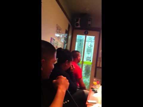 karaoke bar with Marines