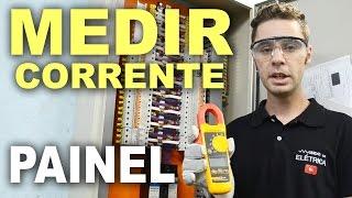 Corrente em painéis elétricos com alicate amperímetro!