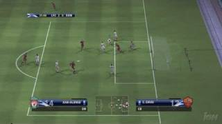 UEFA Champions League 2006-2007 Xbox 360 Gameplay - Curved