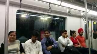 Inside The Mumbai Metro Train India 2015 HD