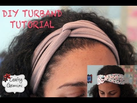 Turban Inspired Headband- DIY Turband Tutorial