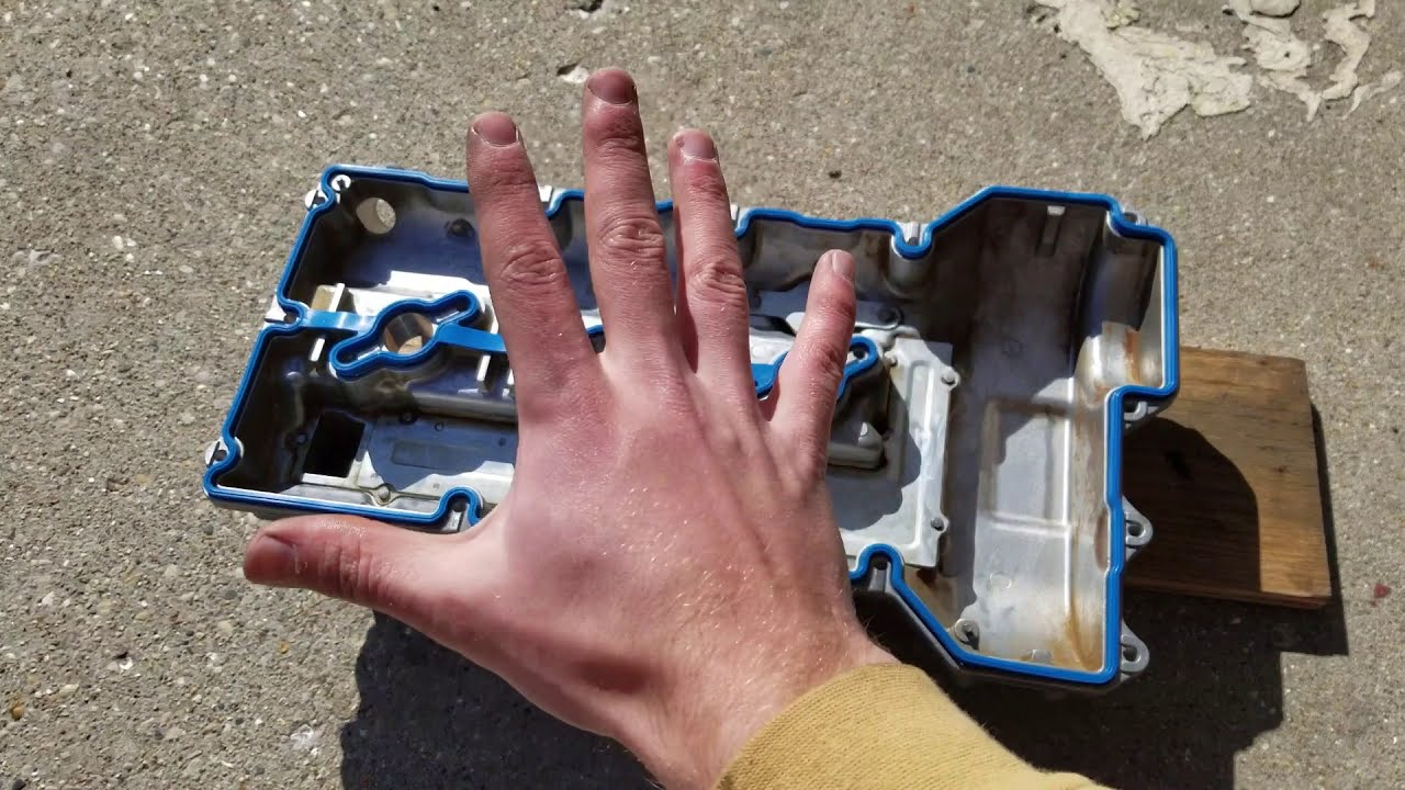 Valve Cover Gasket Replacement  06 Kia V6