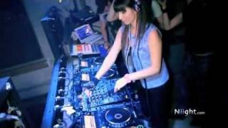 DJ ORISKA inaugure la 1ère vidéo Niight.com lors de sa soirée à la ...