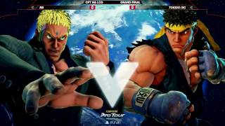 SFV: RB vs Tokido - Red Bull Battle Grounds Grand Finals - CPT 2016