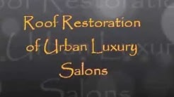M&R Roofing, Roof Restorations of Urban Luxury Salons