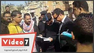 النيابة تعاين موقع حريق سوق الجمعة بالسيدة عائشة