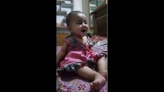 Laughing Baby - Funny - Hania - Lahore Pakistan