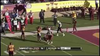 Jordan Williams - Ball State Football - WR - 2014 Central Michigan Game