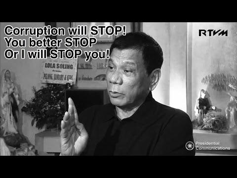 President Duterte galit na galit sa CORRUPTION! NBI sangkot sa DROGA!