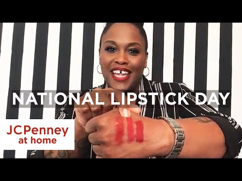 National Lipstick Day | How To Find The Right Lipstick Shade For You | JCPenney