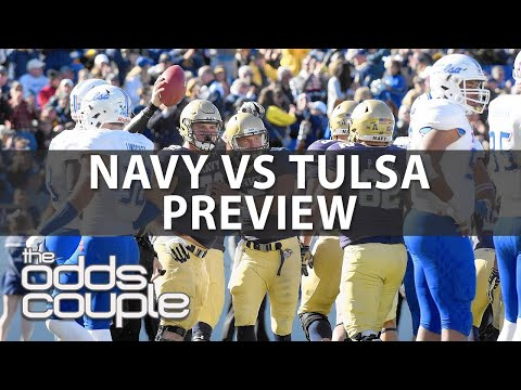 Navy Midshipmen at Tulsa Golden Hurricane | NCAAF Picks | With Joe Gavazzi