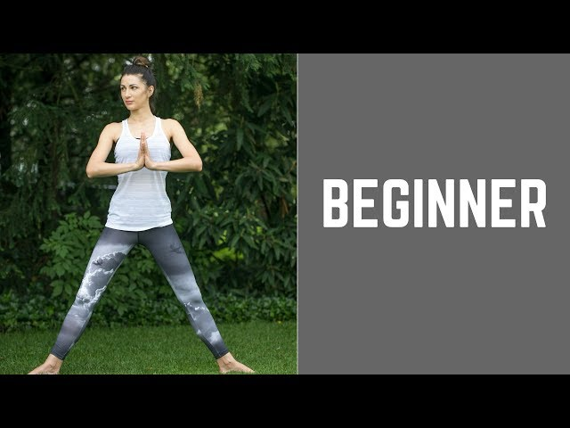 Yoga and Stretching. Front Split Series. Part 8. For Beginners.