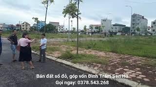 Bán đất sổ đỏ, đất góp vốn vị trí đẹp giá rẻ KĐT Đình Trám Sen Hồ Bắc Giang