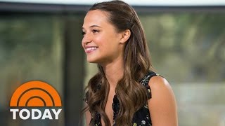 Alicia Vikander Talks 'Jason Bourne,' Matt Damon, Car Chase Scenes | TODAY