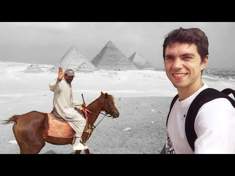 Chatting with my Egyptian guide at The Pyramids in Egypt [FULL VIDEO]