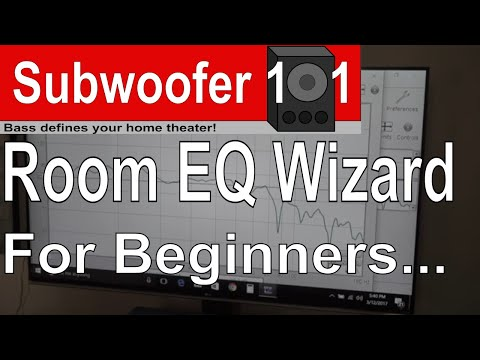 Room EQ Wizard For Beginners: A Simple Overview of How To Measure Subwoofers In A Home Theater 😀🎵