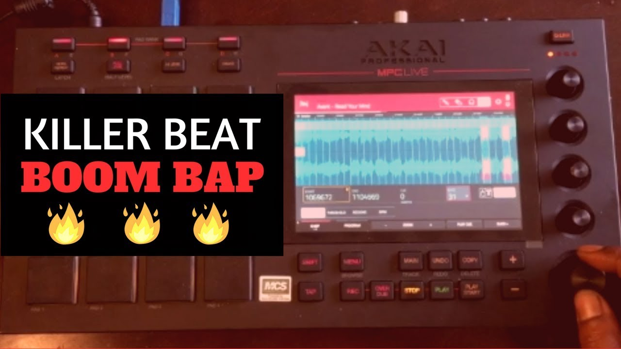 Making A Killer Beat With Stabs Using MPC Live | Chopping Block