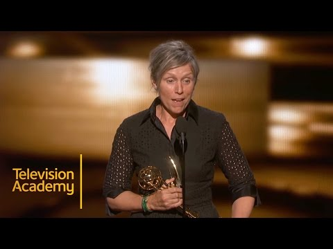 Emmys 2015  Frances McDormand Wins Outstanding Lead Actress In A Limited Series Or A Movie