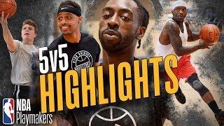 Team BIGDAWS Vs Team BONE Highlights | NBA Playmakers