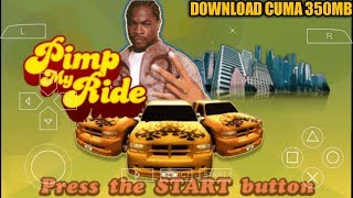 Cara Download Game Pimp My Ride PPSSPP Android