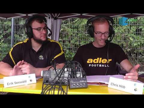 GFL 2018 Berlin Adler vs Duseldorf Panthers 10.06.2018
