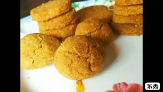 Moong Dal Cookies/Nankhatais: No Baking Powder/Soda