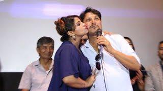 मीडियासामु दीपक-दीपाको चुम्बन, दीपकले भने 'उ बीना अधुरो छु'    Deepak Raj & Deepa Shree