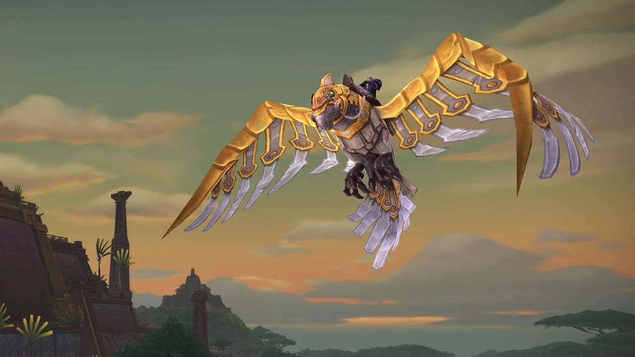Flying in Battle for Azeroth: How to unlock flying in World