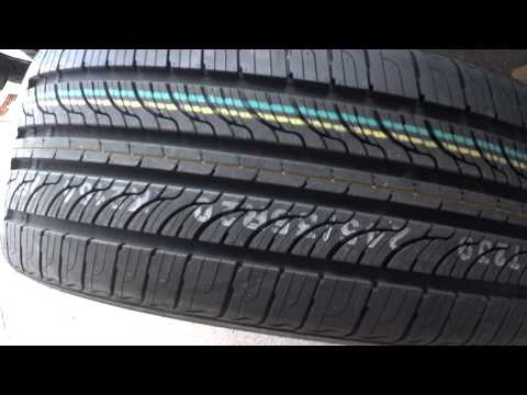 Tires Nexen N7000 all season tires on Infiniti g37