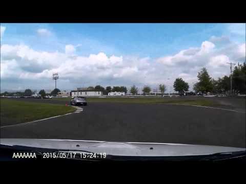 Englishtown Raceway Park Open Track Road Course 5/17/15 Evo X