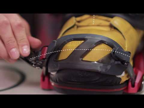 How To Adjust Your Snowboard Bindings | Whitelines Snowboarding