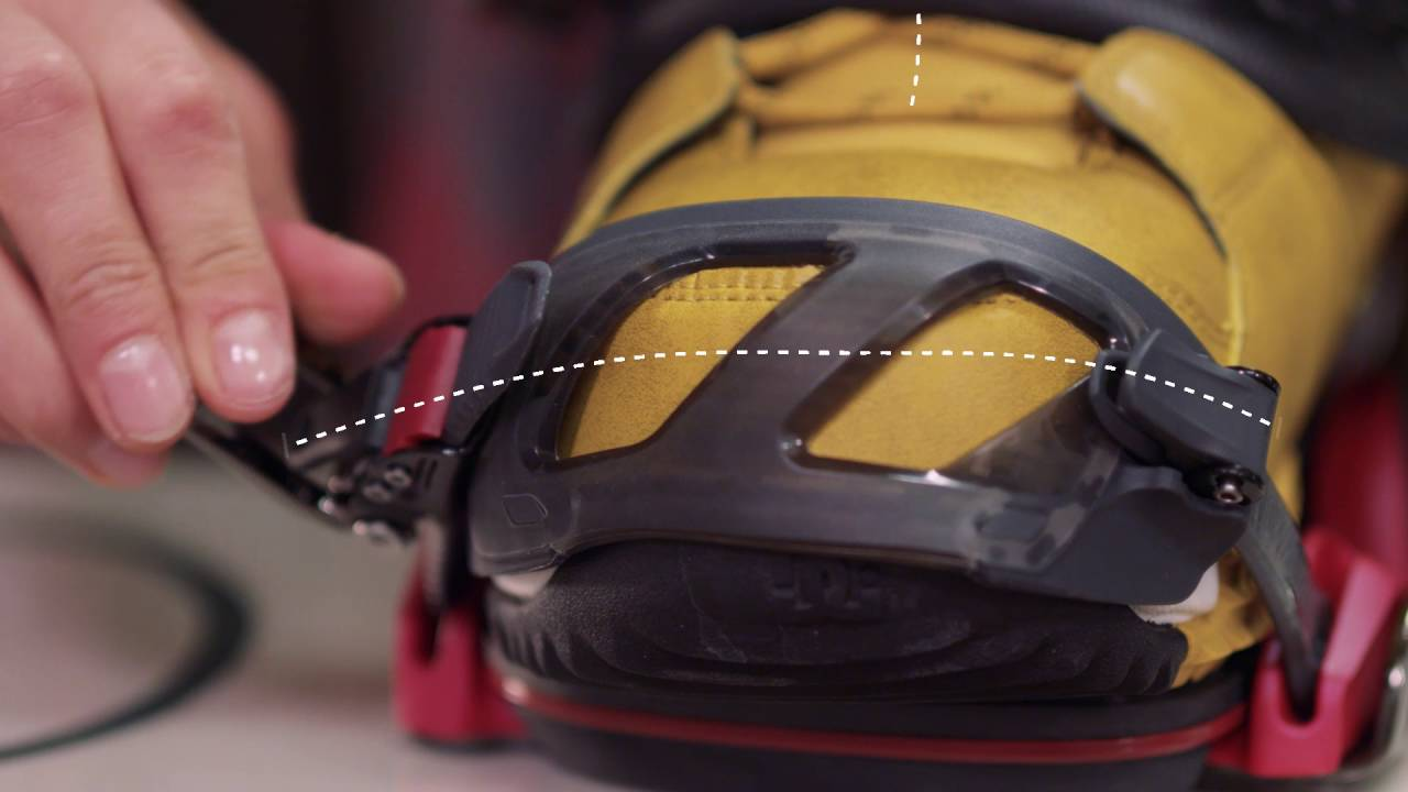 feb8d81f8d How To Adjust Your Snowboard Bindings