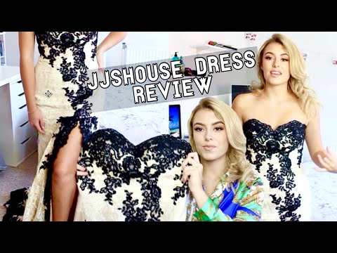JJSHOUSE DRESS REVIEW // DRESSES FOR PROM, WEDDING, BALL + MORE! | Fern Roberts