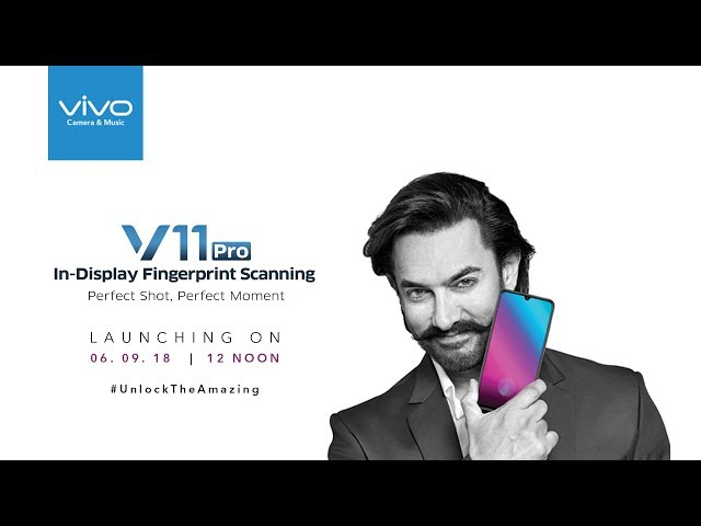 Vivo V11 Pro to launch today: Here's when and where to watch