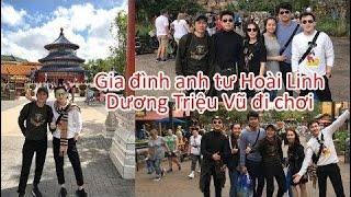 Anh tư Hoài Linh cùng Dương Triệu Vũ và gia đình đi chơi hưởng thụ Disney World