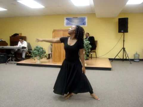 I told the storm praise dance