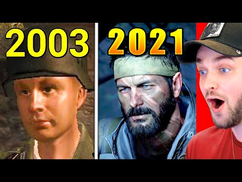 Evolution of *ALL* Call of Duty Games! (2003 - 2021)