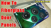 How To Fiberglass Door Panels Step By Step Chameleon Flip Flop Paint PRV AUDIO SPEAKERS Chevy Tahoe