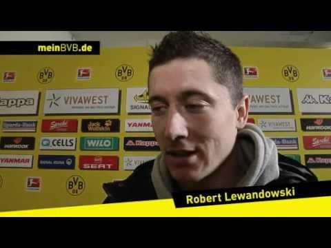 BVB - Hannover 96: Interviews mit Perisic und Lewandowski
