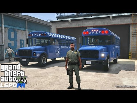 LSPDFR #446 - PRISONER TRANSPORT| TRANSFER!! (GTA 5 REAL LIFE POLICE MOD)