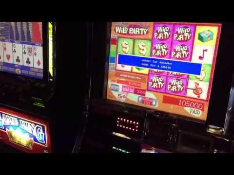 Dean Martins Wild Party and Game King Double Double Bonus Poker Jackpots